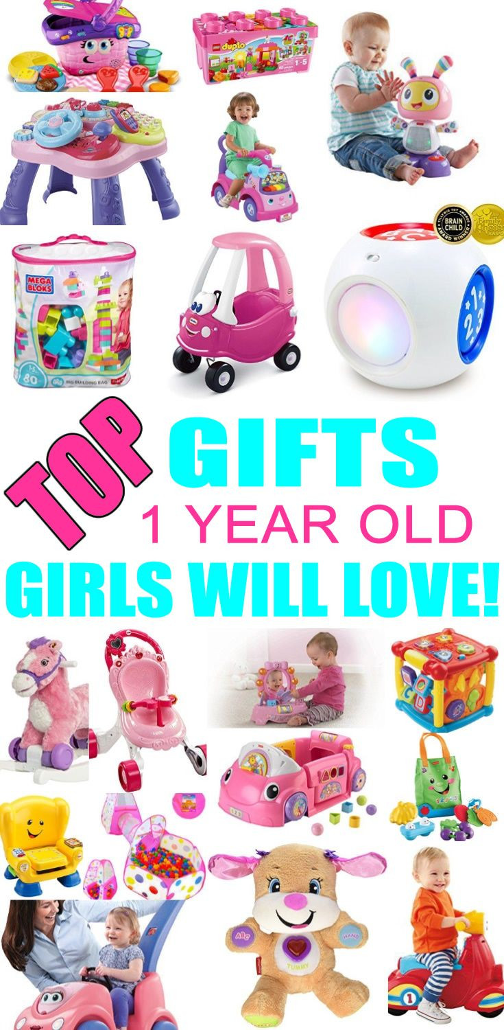 1 Year Old Baby Girl Gift Ideas  Best Gifts for 1 Year Old Girls