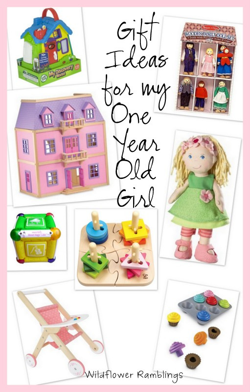 1 Year Old Baby Girl Gift Ideas  t ideas for my 1 year old girl Wildflower Ramblings