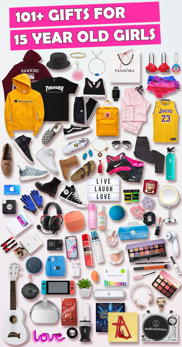 15 Year Old Birthday Party Ideas Summer  Gifts for 15 Year Old Girls [HUGE list] Best Gifts for