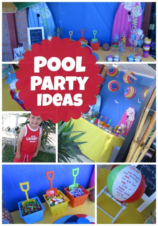 15 Year Old Birthday Party Ideas Summer  Celebrate a Summer Birthday with a Pool Party