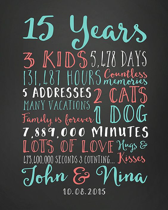 15 Year Wedding Anniversary Quotes  Pinterest • The world's catalog of ideas