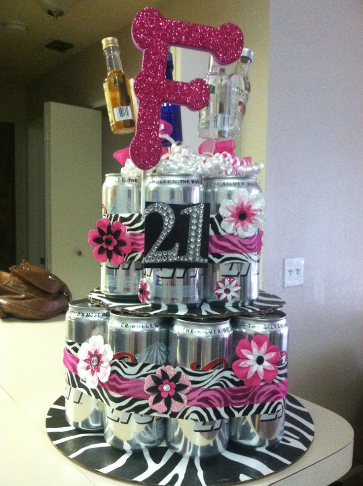 21St Birthday Gifts  DIY Beer Cake for a 21st birthday t but can mine be