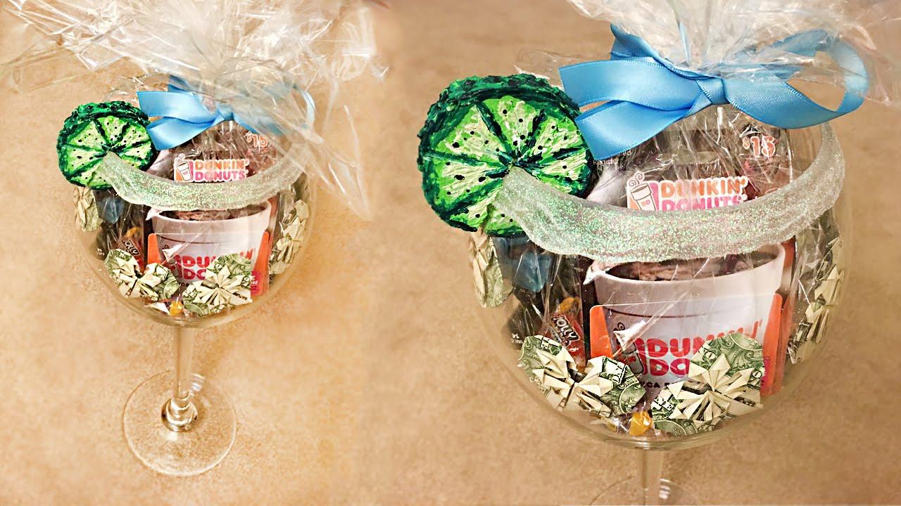 21St Birthday Gifts  Easy DIY 21st Bday Gift Ideas Custom Wine Glass