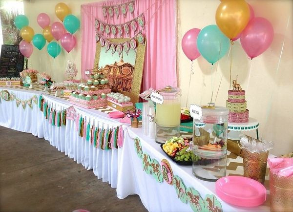 2Nd Birthday Decorations For Girl  Baby Girl 2nd Birthday Themes 2nd birthday party ideas for