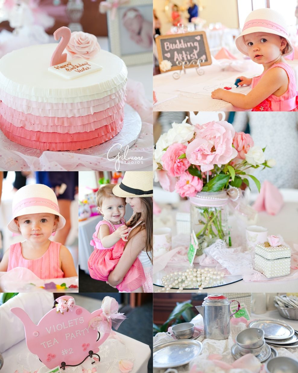 2Nd Birthday Decorations For Girl  2nd Birthday Tea Party in Newport Beach Girl Birthday