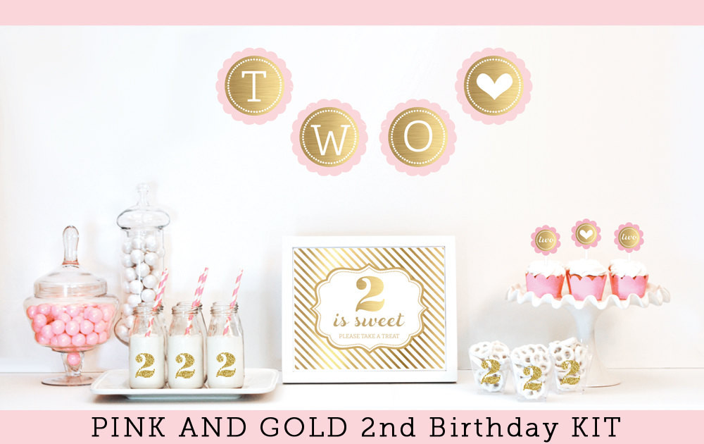 2Nd Birthday Decorations For Girl  2nd Birthday Girl Decorations Girl 2nd Birthday Party by