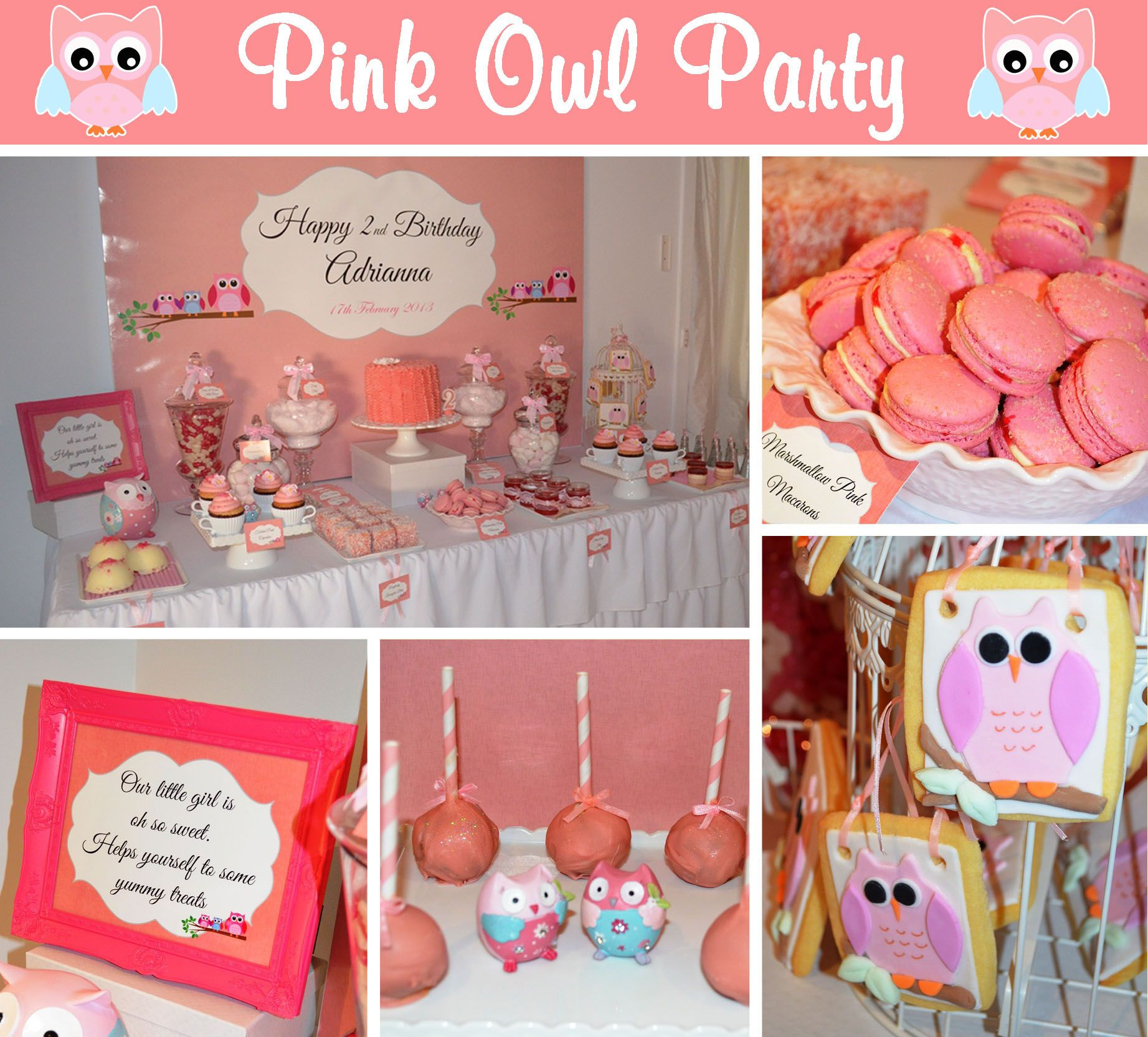 2Nd Birthday Decorations For Girl  Girls 2nd Birthday Ideas