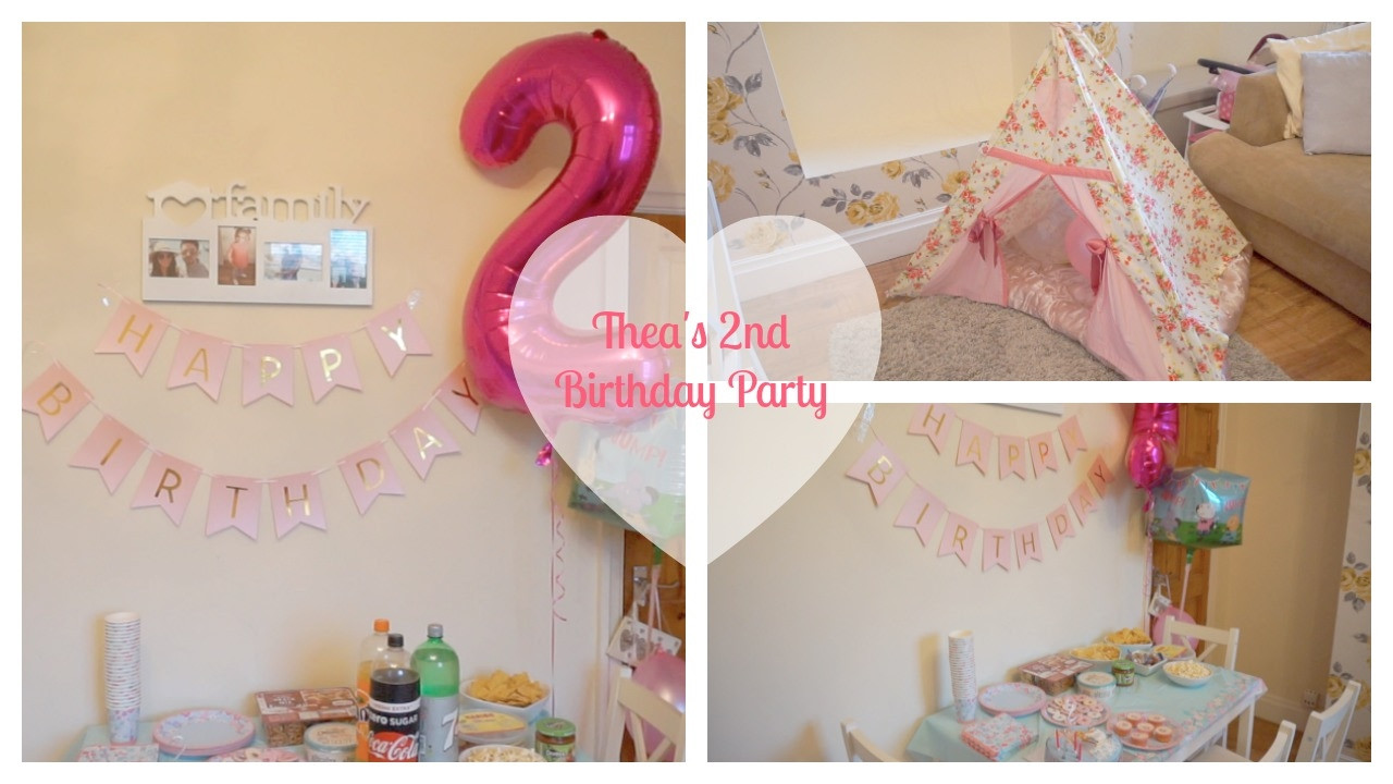 2Nd Birthday Decorations For Girl  THEA S 2ND BIRTHDAY PARTY