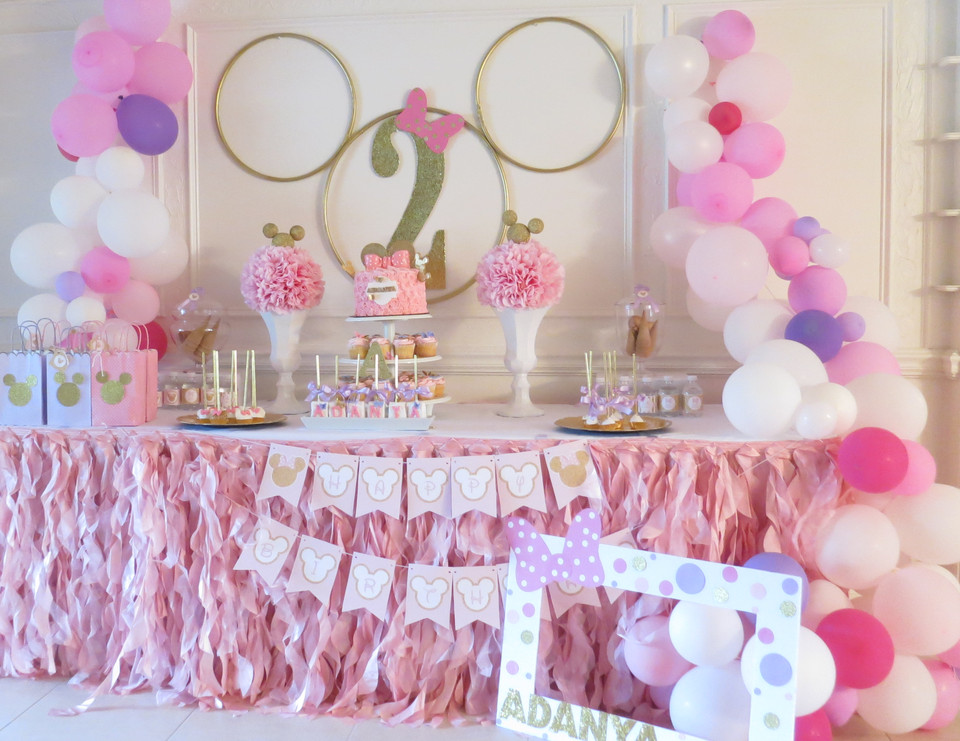 """2Nd Birthday Gift Ideas For Girls  Minnie Mouse Birthday """"Minnie 2nd Birthday party"""