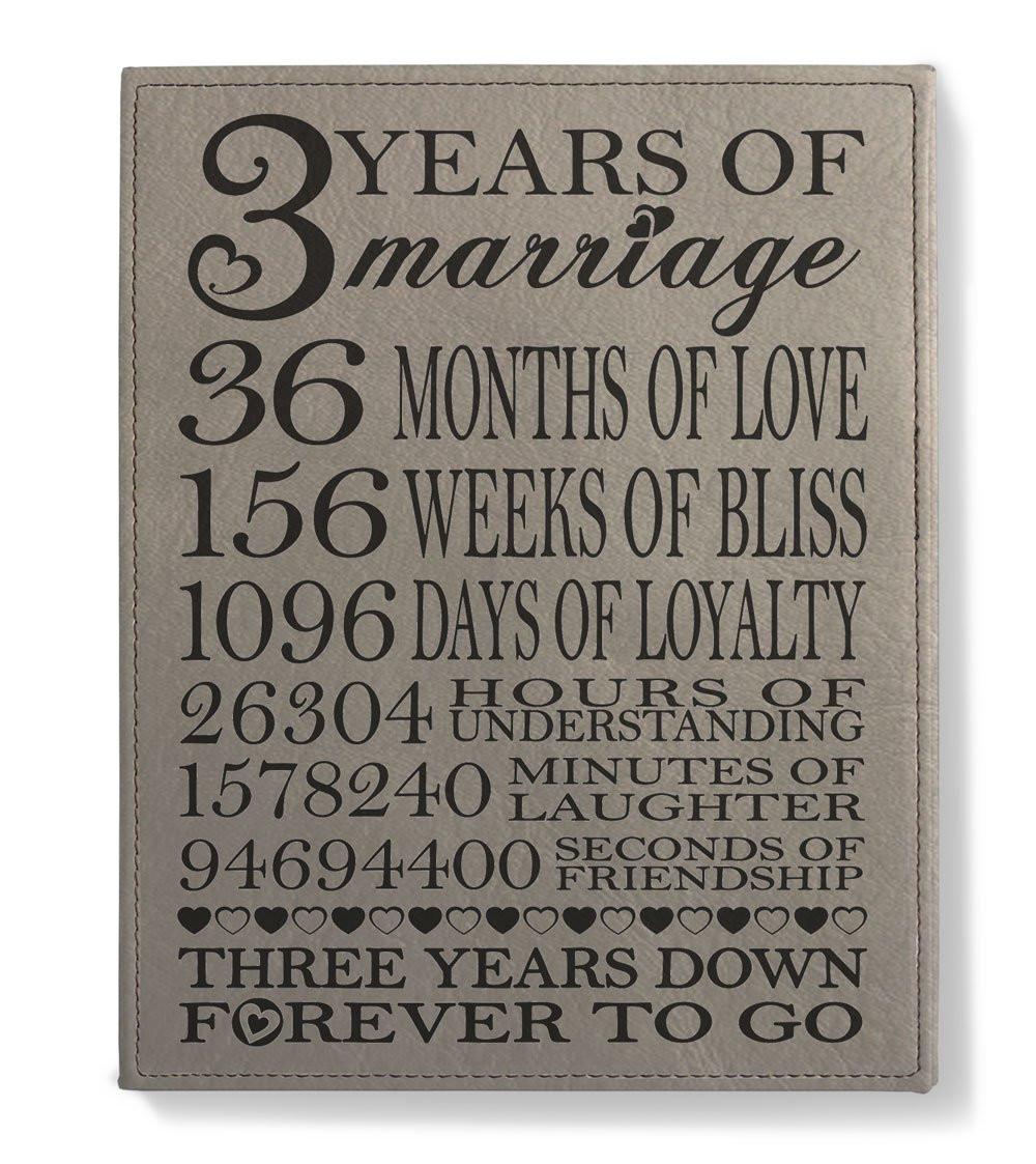 3 Year Wedding Anniversary Gift Ideas For Him  3 Year Anniversary Gifts for Him Amazon