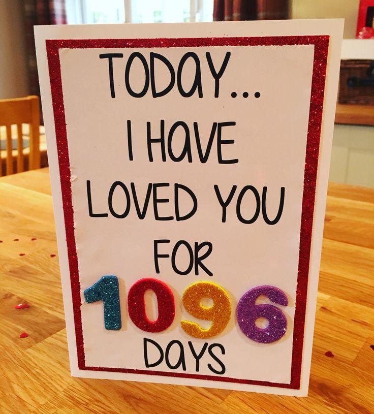 3 Year Wedding Anniversary Gift Ideas For Him  25 best ideas about 3 Year Anniversary on Pinterest