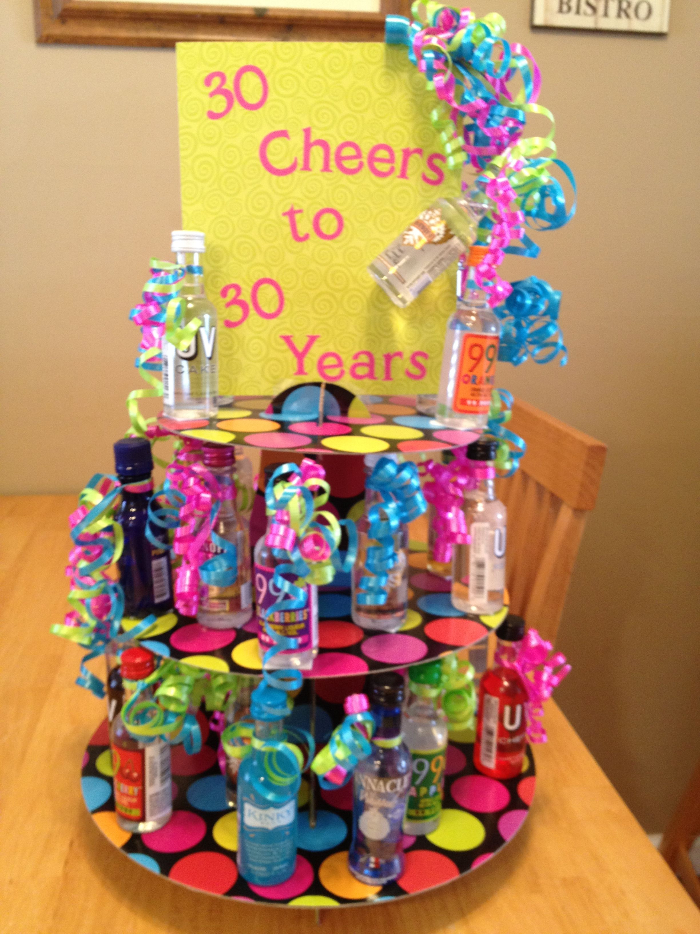 30 Gifts For 30Th Birthday For Her  30 Cheers to 30 Years 30th Birthday t