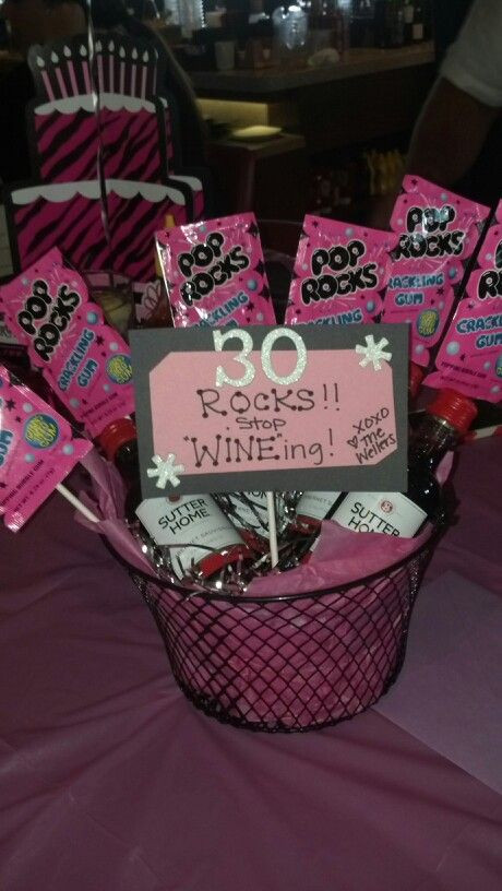 30 Gifts For 30Th Birthday For Her  My girlfriend Katie s 30th birthday t i made her 30