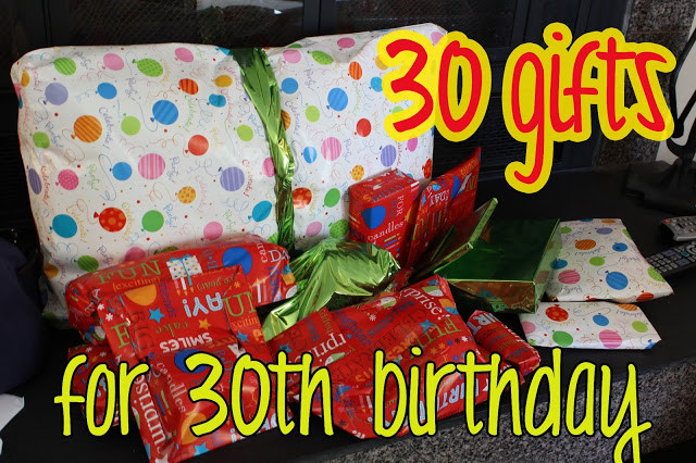 30 Gifts For 30Th Birthday For Her  love elizabethany t idea 30 ts for 30th birthday