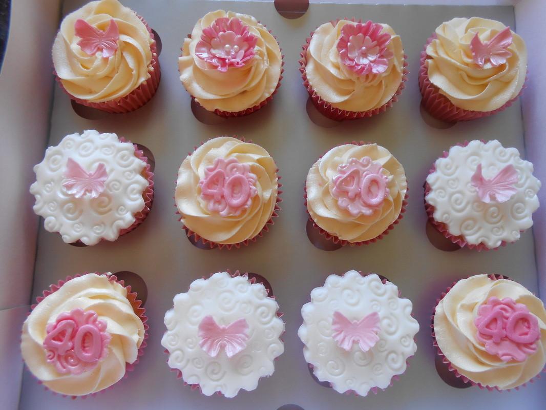 40Th Birthday Cupcakes Ideas  40th Birthday Cupcakes Tracy s T Cakes