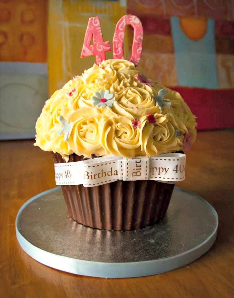 40Th Birthday Cupcakes Ideas  Creative 40th Birthday Cake Ideas Crafty Morning