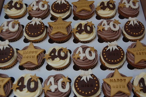 40Th Birthday Cupcakes Ideas  40th Birthday Cupcakes – Beautiful Birthday Cakes