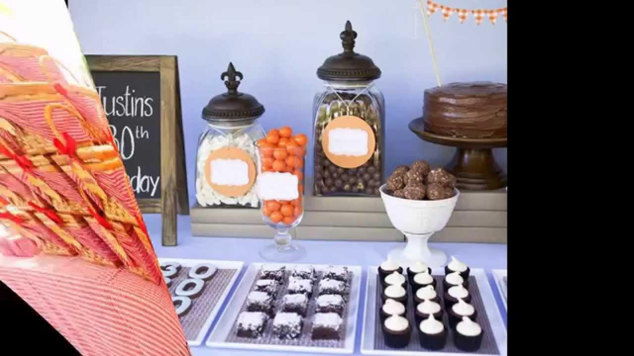 40Th Birthday Decorations Ideas  Best 40th birthday party decoration ideas