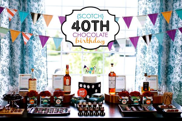 40Th Birthday Decorations Ideas  40th Birthday Party Ideas Adult Birthday Party Ideas
