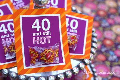 40Th Birthday Decorations Ideas  40th Birthday Party Ideas