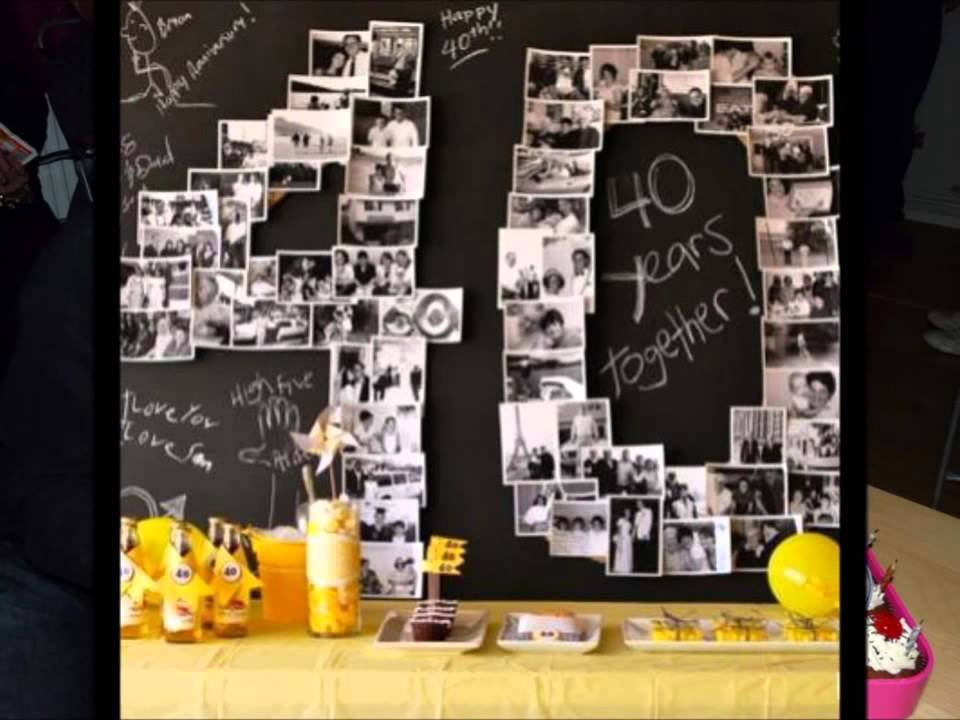 40Th Birthday Decorations Ideas  40th birthday party ideas supplies themes decorations