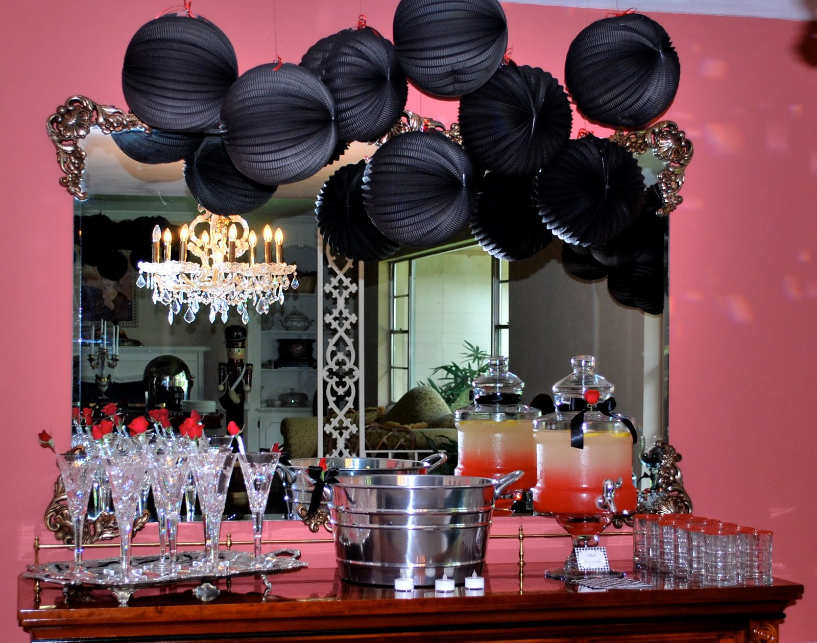 40Th Birthday Decorations Ideas  Goosie Girl A 40th Birthday Party