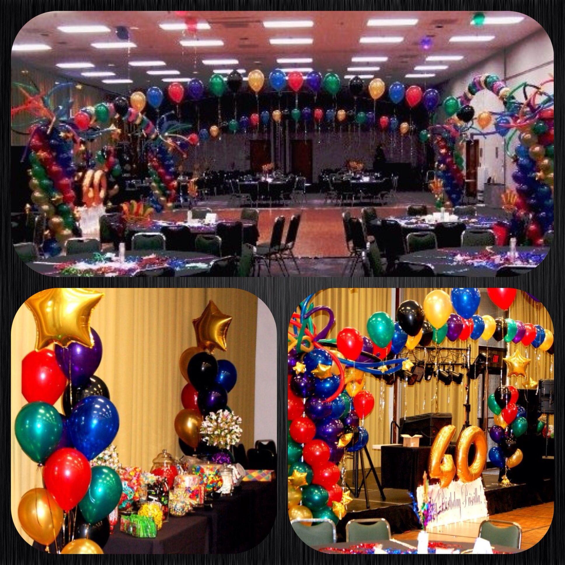 40Th Birthday Decorations Ideas  40th Birthday Decor Party Ideas