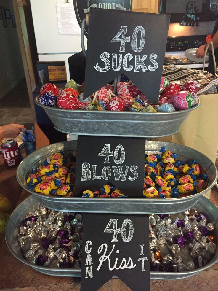 40Th Birthday Decorations Ideas  Best 25 40th birthday ideas on Pinterest