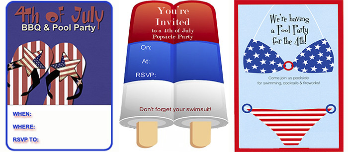 4Th Of July Pool Party Ideas  Patriotic Pool Party July 4th Pool Party Ideas