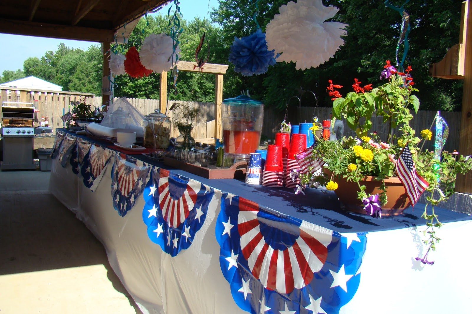 4Th Of July Pool Party Ideas  4th of July Party Buffet Ideas