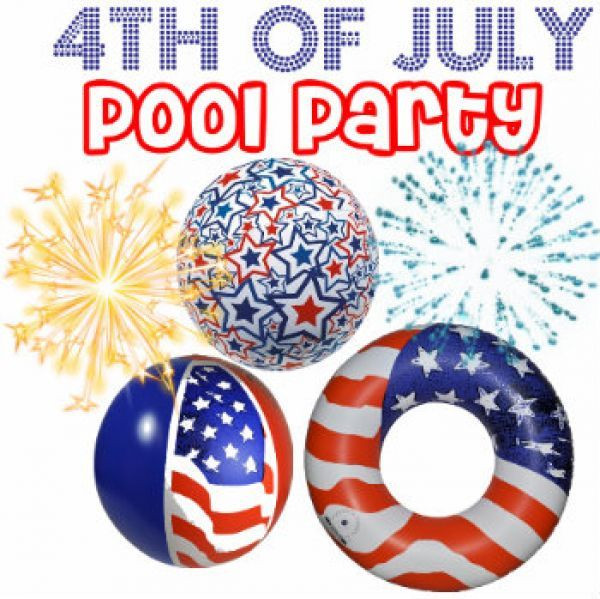 4Th Of July Pool Party Ideas  17 Best images about Decoration Ideas 4th of July Pool