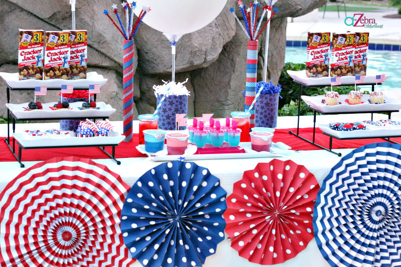 4Th Of July Pool Party Ideas  Last Minute 4th of July Party – A to Zebra Celebrations