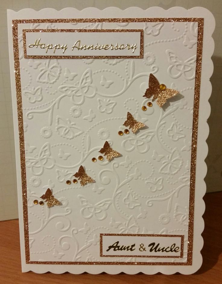 50Th Wedding Anniversary Gift Ideas For Aunt And Uncle  Happy Anniversary Aunt & Uncle