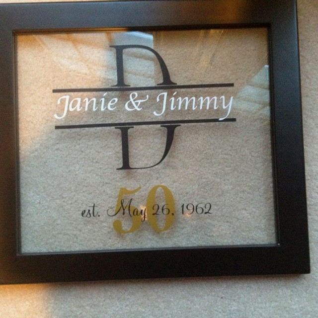 50Th Wedding Anniversary Gift Ideas For Aunt And Uncle  Best 25 50th wedding anniversary t ideas on Pinterest