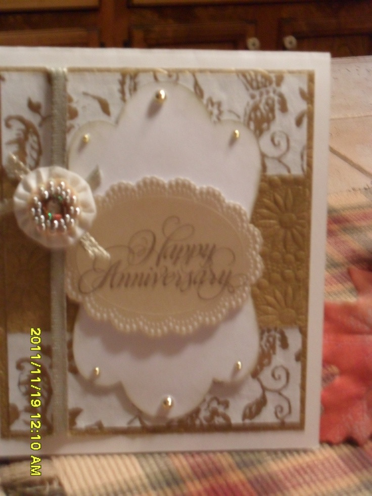 50Th Wedding Anniversary Gift Ideas For Aunt And Uncle  85 best 50th anniversary cards images on Pinterest