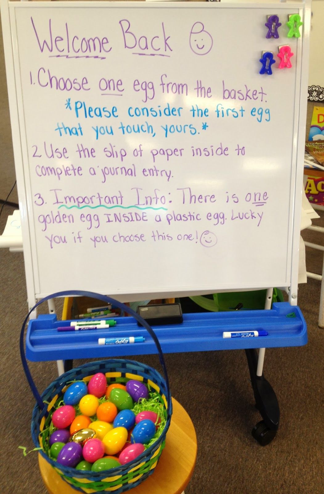 """5Th Grade Easter Party Ideas  In 5th Grade with Teacher Julia """"Egg""""cellent Review"""