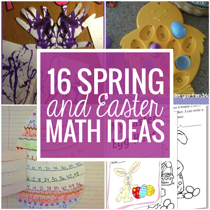 5Th Grade Easter Party Ideas  16 Spring and Easter Math Ideas Teach Junkie