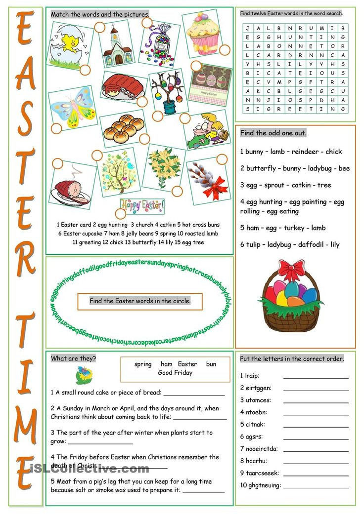 5Th Grade Easter Party Ideas  17 Best ideas about Easter Worksheets on Pinterest