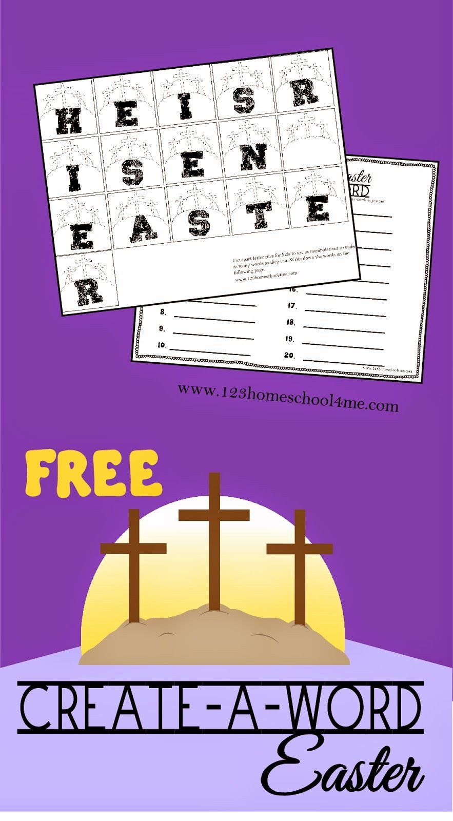 5Th Grade Easter Party Ideas  Easter Create A Word Spelling Activity