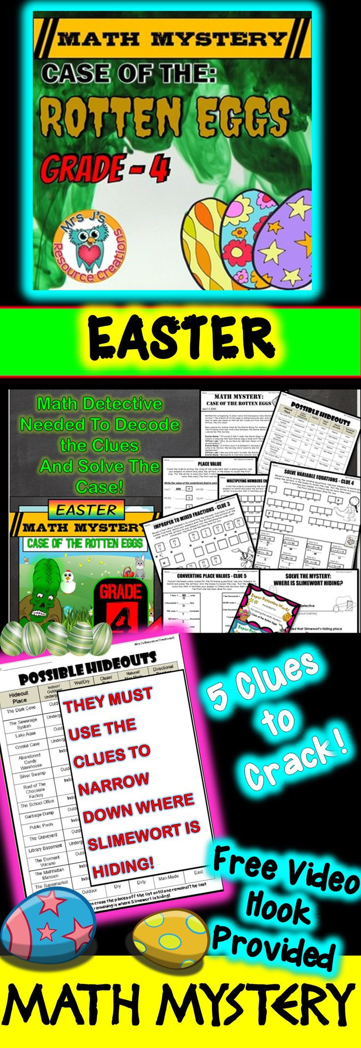 5Th Grade Easter Party Ideas  2959 best Easter Math Ideas images on Pinterest