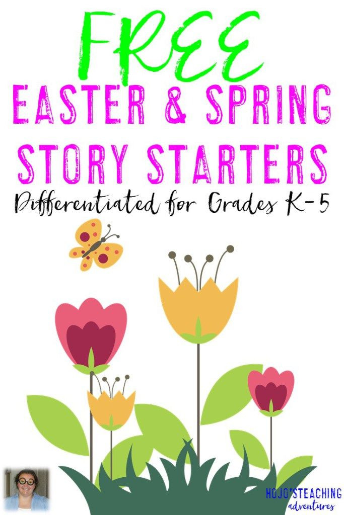 5Th Grade Easter Party Ideas  FREE K 5 Differentiated Easter & Spring Story Starters