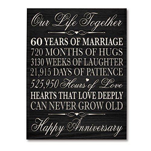 60 Wedding Anniversary Gift Ideas  Best 25 60th anniversary ts ideas on Pinterest