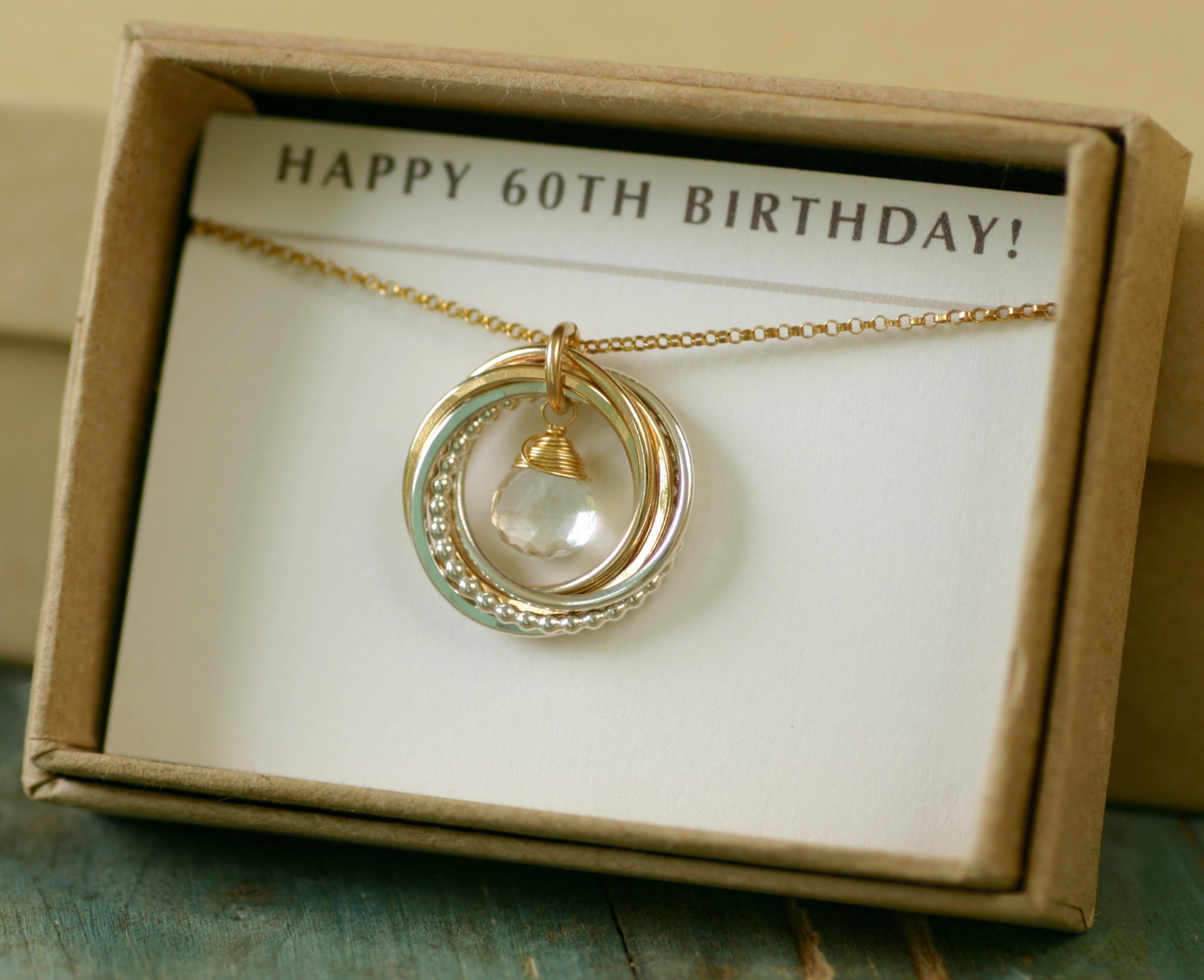 60Th Birthday Gifts For Her  60th birthday t for her rock crystal by ILoveHoneyWillow
