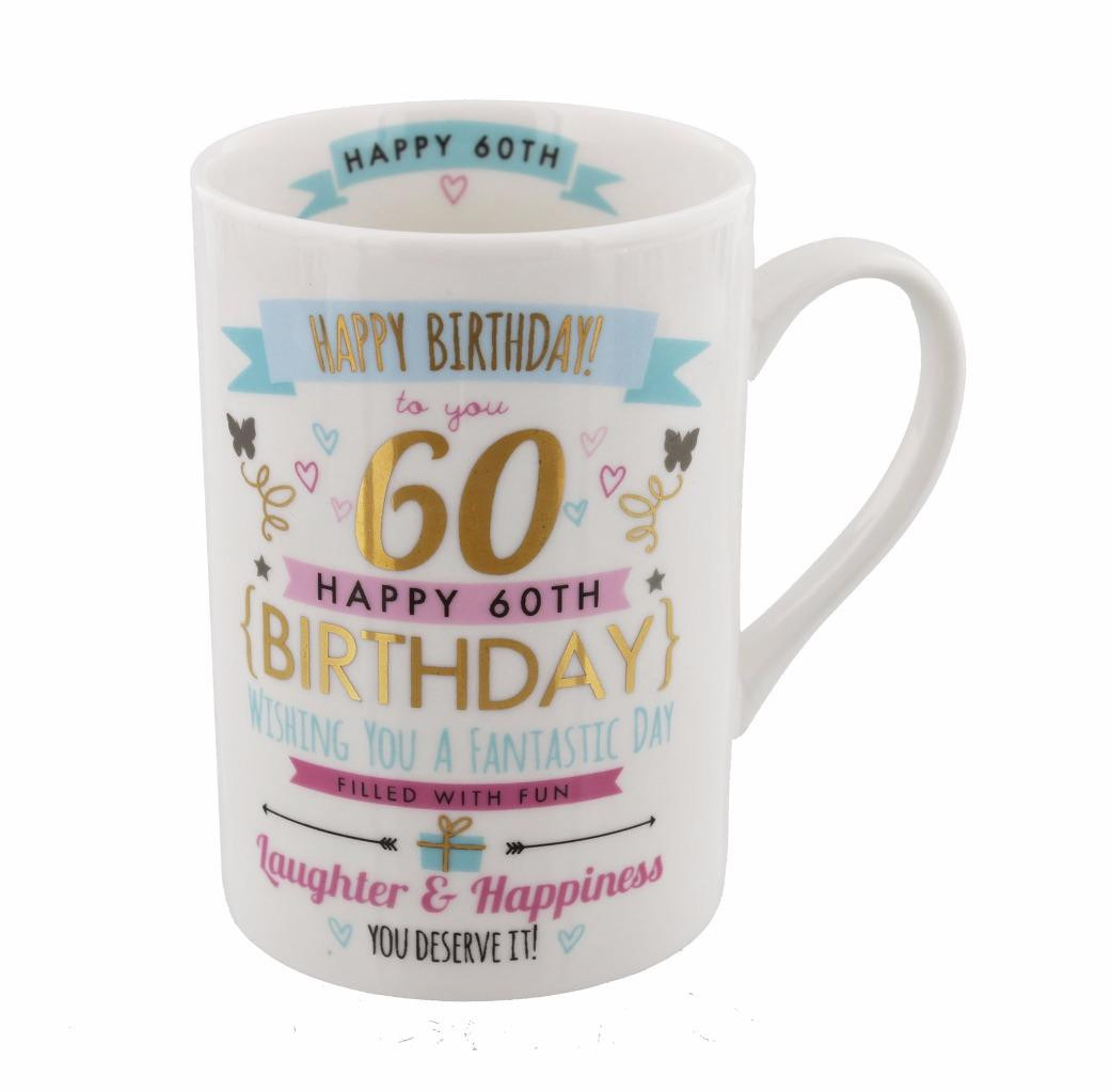 60Th Birthday Gifts For Her  60th Birthday Gift For Her 60th Birthday Mug Gift