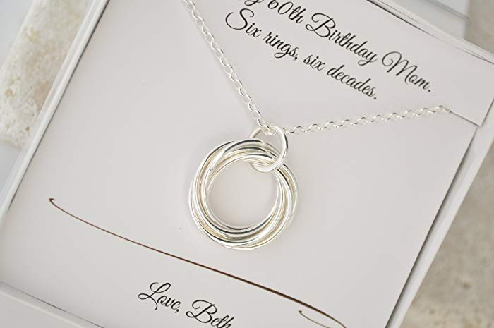 60Th Birthday Gifts For Her  60th Birthday Gifts For Her Jewellery Gift Ftempo