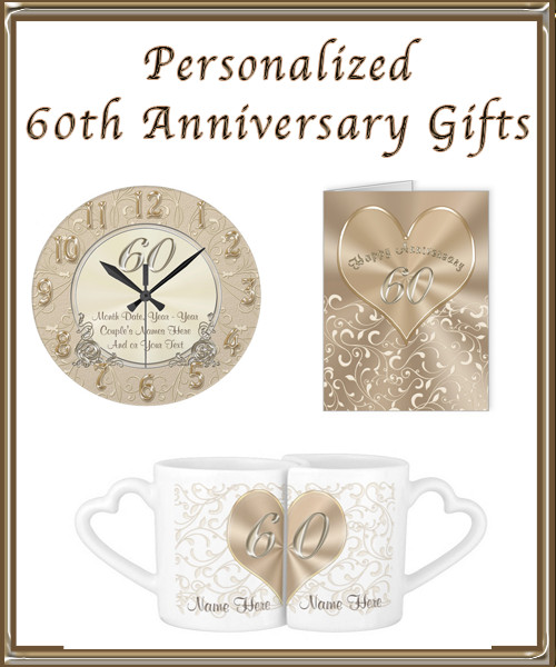 60Th Wedding Anniversary Gift Ideas  Personalized 60th Wedding Anniversary Gift Ideas