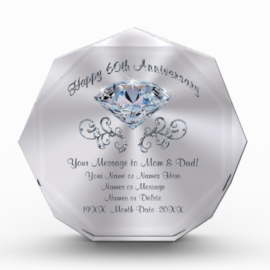 60Th Wedding Anniversary Gift Ideas  60th Anniversary Gifts on Zazzle