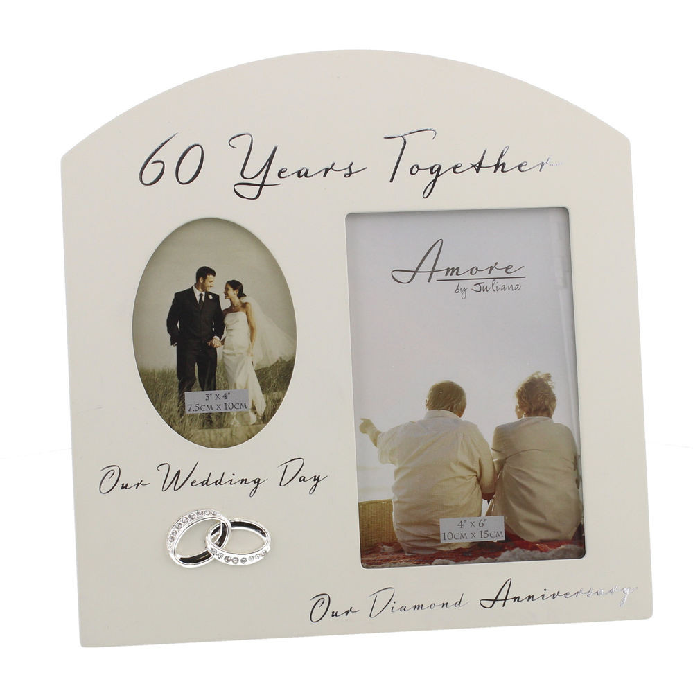 60Th Wedding Anniversary Gift Ideas  60th Diamond Wedding Anniversary Gift Ideas Double Wooden