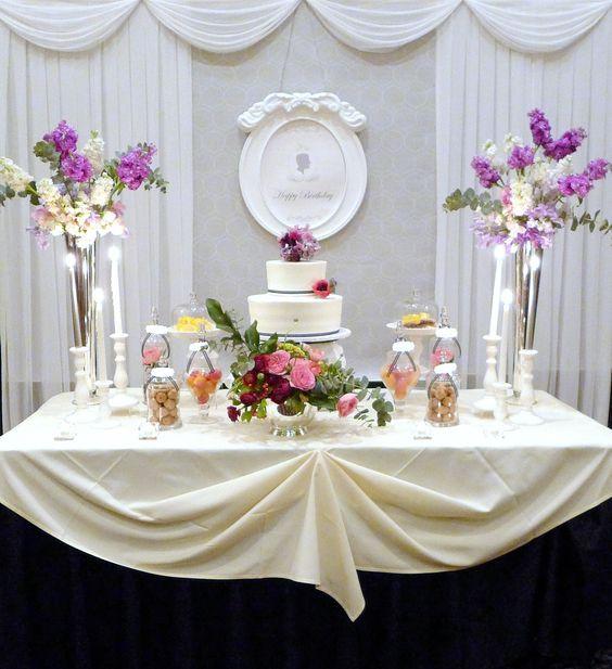 70Th Birthday Table Decorations  70th Birthday Party Maggiano mariencarolyn