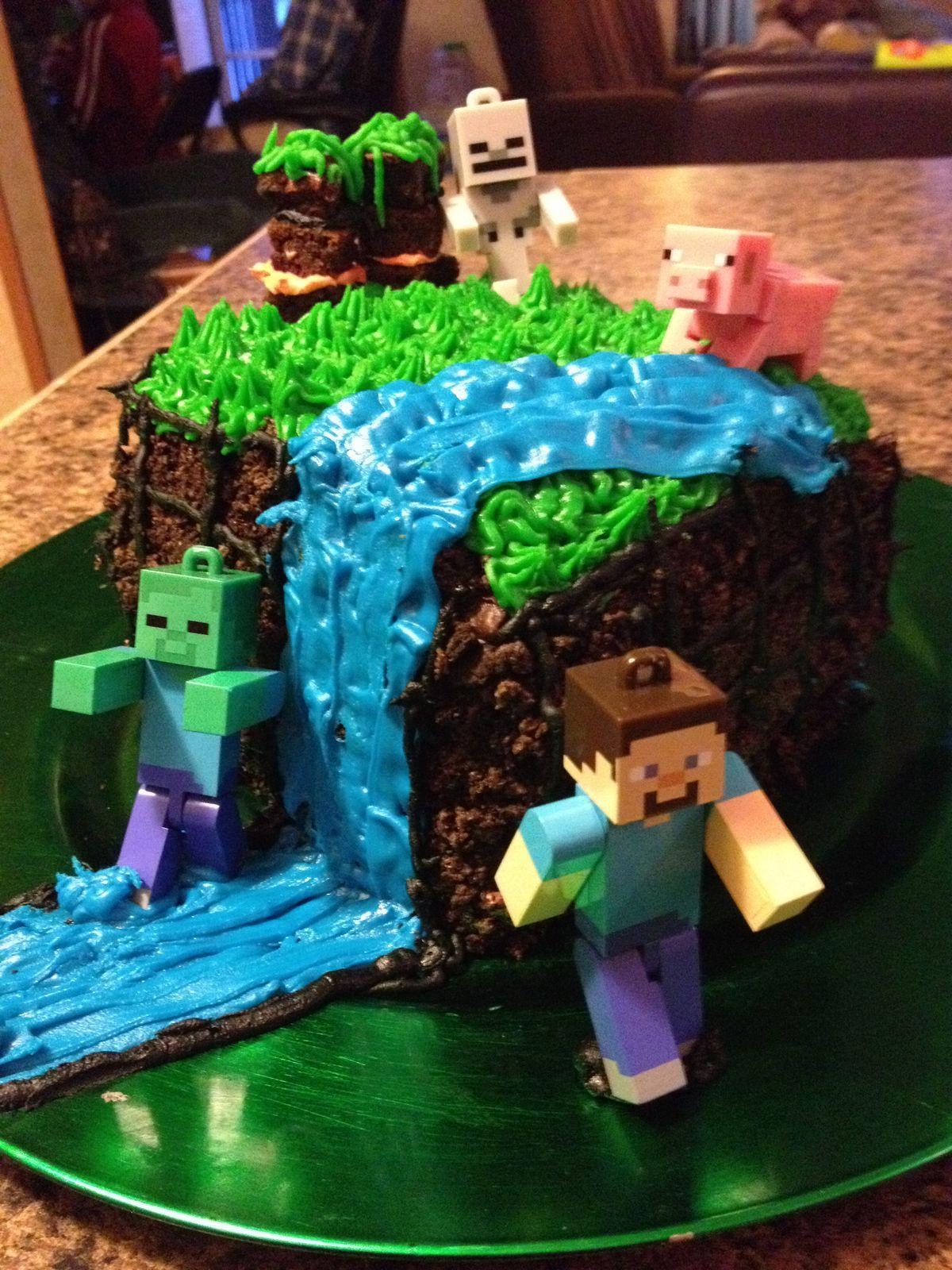 9 Year Old Boy Birthday Cake Ideas  Pin by Karen Chamberlain on Cakes